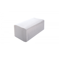 Ręczniki białe składane ZZ...